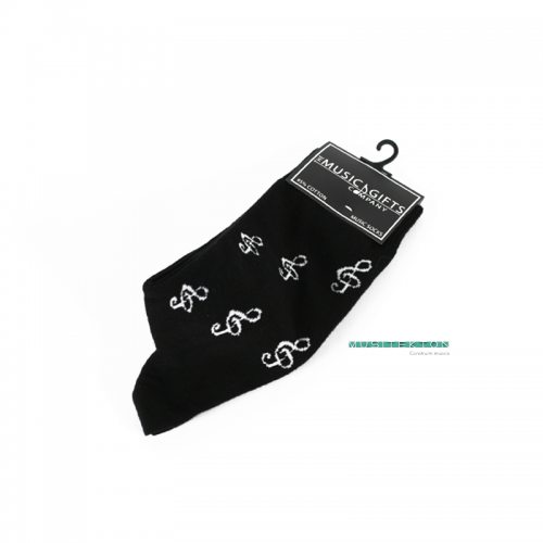 Socks treble clefs