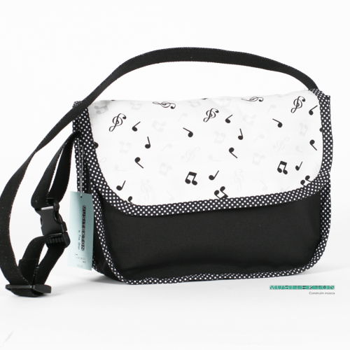 Shoulder bag Mozart II Musitekton by Tina Gran
