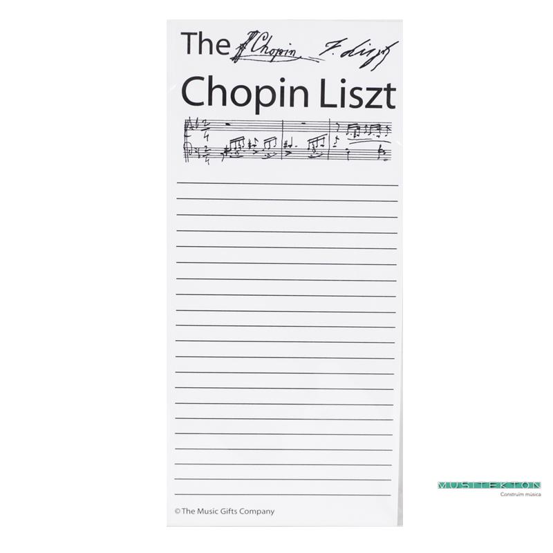 Recambio lista de la compra Chopin Liszt
