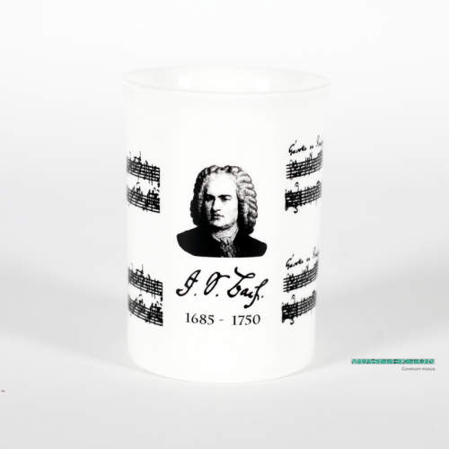 Taza retrato Bach