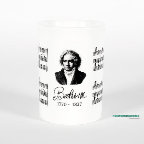 Mug Beethoven portrait