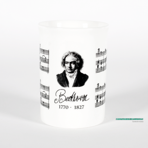 Taza retrato Beethoven