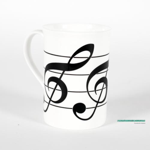 Mug treble clef BCM31