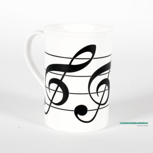 Mug treble clef