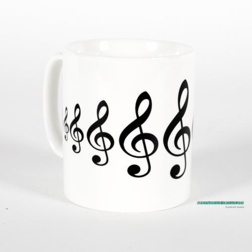 Mug treble clef MUG02